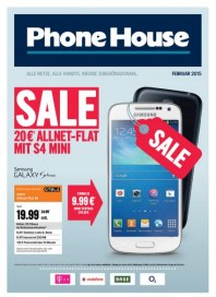 Phone House SALE Februar 2015 KW05