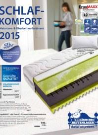 Dänisches Bettenlager Schlafkomfort Februar 2015 KW09
