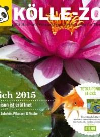 Kölle Zoo Teich 2015 - Die Saison ist eröffnet April 2015 KW18