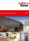 Holzland König Ideen für Haus & Garten 2015 Mai 2015 KW19