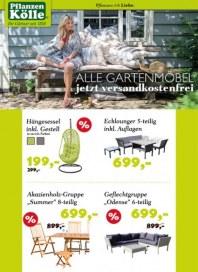Pflanzen Kölle Alle Gartenmöbel jetzt versandkostenfrei Mai 2015 KW20