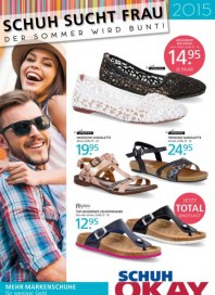 Schuh Okay Der Sommer wird bunt Juni 2015 KW24