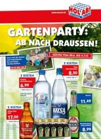 Hol ab Getränkemarkt Gartenparty: Ab nach draußen Juni 2015 KW27