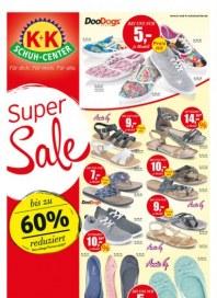 K+K Schuh-Center Super Sale Juli 2015 KW29