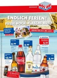 Hol ab Getränkemarkt Endlich Ferien! - Füße hoch, Flasche auf Juli 2015 KW31