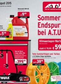 A.T.U Auto Teile Unger Sommer-Endspurt bei A.T.U Juli 2015 KW31