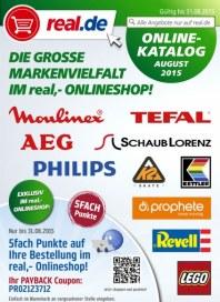real,- Die große Markenvielfalt im real,- Onlineshop August 2015 KW32