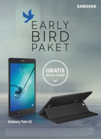 Samsung Early Bird Paket August 2015 KW33