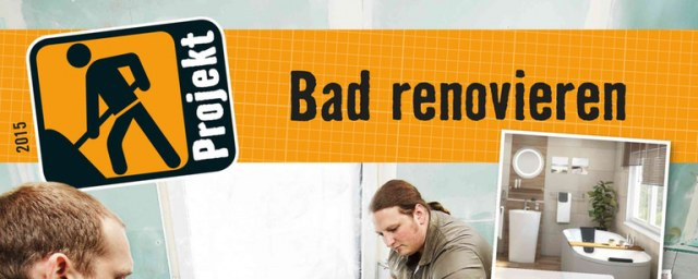 Hornbach Bad renovieren August 2015 KW35