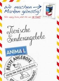 Das Futterhaus Tierische Sonderangebote August 2015 KW35