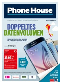 Phone House Doppeltes Datenvolumen September 2015 KW36