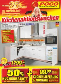 POCO Küchenaktionswochen September 2015 KW36