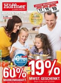 Höffner Höffner ... Küchen-Spezial September 2015 KW38 9