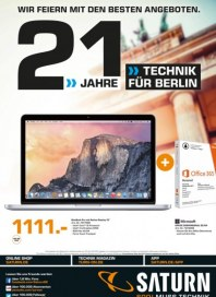 Saturn 21 Jahre Technik für Berlin September 2015 KW38 2