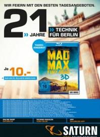 Saturn 21 Jahre Technik für Berlin September 2015 KW39