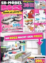SB Möbel Boss Der Boss macht den Preis Januar 2016 KW01