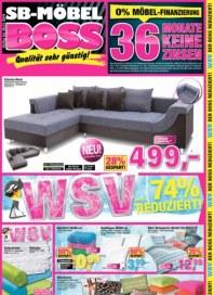 SB Möbel Boss Qualität sehr günstig Januar 2016 KW03