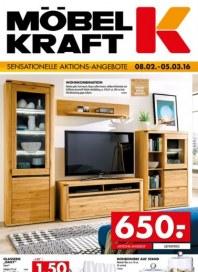 Möbel Kraft Sensationelle Aktions-Angebote Februar 2016 KW06
