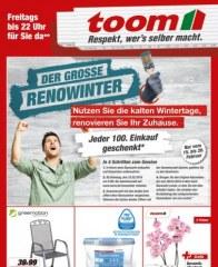 toom Baumarkt Der große Renowinter Februar 2016 KW06