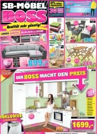 SB Möbel Boss Der Boss macht den Preis März 2016 KW09