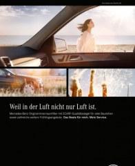 Mercedes Benz Weil in der Luft nicht nur Luft ist März 2016 KW10