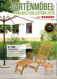 Rahaus Gartenmöbel März 2016 KW10
