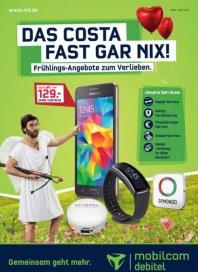 mobilcom-debitel Das Costa fast gar nix April 2016 KW13