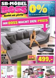 SB Möbel Boss Der Boss macht den Preis April 2016 KW14