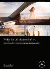 Mercedes Benz Weil in der Luft nicht nur Luft ist April 2016 KW14