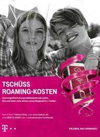Telekom Shop Tschüss Roaming - Kosten April 2016 KW16