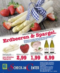 E center Erdbeeren & Spargel April 2016 KW17