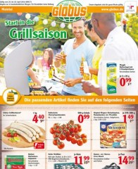 Globus Start in die Grillsaison April 2016 KW17