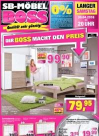 SB Möbel Boss Der Boss macht den Preis April 2016 KW17 1