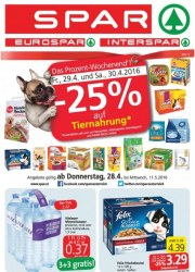SPAR SPAR Angebote 28.04 - 11.05.2016 April 2016 KW17