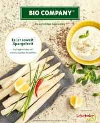 Bio Company Es ist soweit: Spargelzeit April 2016 KW17 1