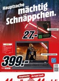 MediaMarkt Hauptsache mächtig Schnäppchen April 2016 KW17