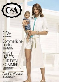 C&A Sommerliche Looks Mai 2016 KW18