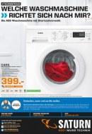 Saturn Welche Waschmaschine richtet sich nach mir Mai 2016 KW18
