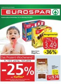 EUROSPAR EUROSPAR Angebote 12.05 - 24.05.2016 Mai 2016 KW19