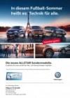 Volkswagen Die neuen ALLSTAR Sondermodelle Mai 2016 KW19