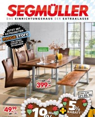 Segmüller Speisezimmer bei Segmüller Mai 2016 KW19 5