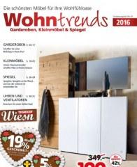 Segmüller Wohntrends: Garderoben, Kleinmöbel & Spiegel Mai 2016 KW19 4