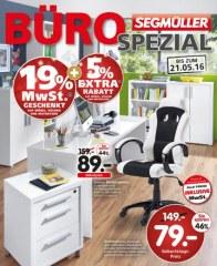 Segmüller Segmüller: Büro Spezial Mai 2016 KW19 2