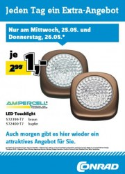 Conrad Electronic Jeden Tag ein Extra-Angebot Mai 2016 KW21 8