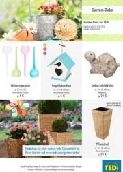 Tedi GmbH & Co. KG Garten-Deko Mai 2016 KW21