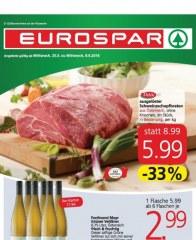 EUROSPAR EUROSPAR Angebote 25.05 - 08.06.2016 Mai 2016 KW21