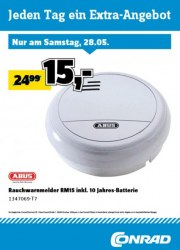 Conrad Electronic Jeden Tag ein Extra-Angebot Mai 2016 KW21 10