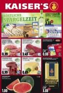 Kaiser's Köstliche Spargelzeit Mai 2016 KW22