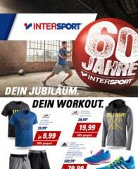 Intersport Dein Jubiläum. Dein Workout Juni 2016 KW22