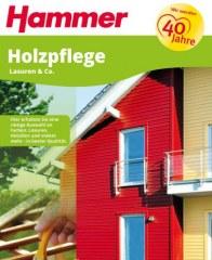 Hammer Holzpflege - Lasuren & Co Juni 2016 KW22